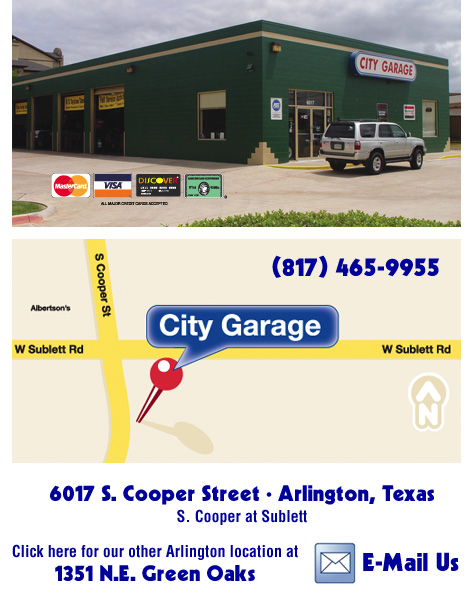 City Garage Colleyville Texas